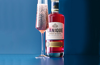 Lanique rose fizz recipe