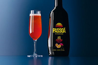 Passion Fizz recipe