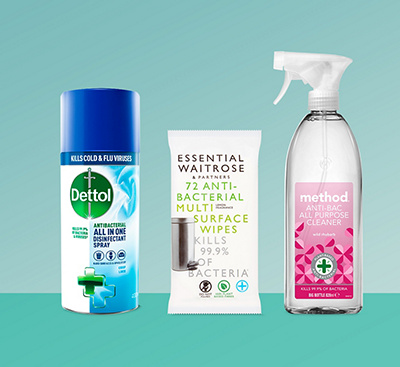 Antibacterial Household Cleaning