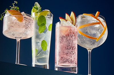 Image of 'grown up' soft drinks