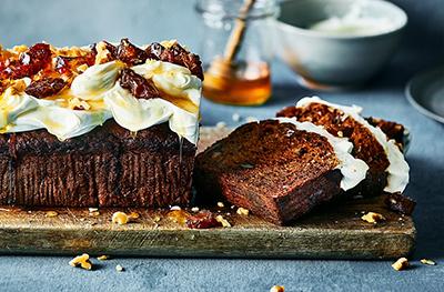 Date & carrot cake