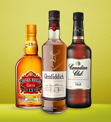 Spicy whiskey