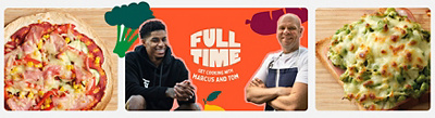 Marcus Rashford Full Time Get Cooking with Marcus & Tom