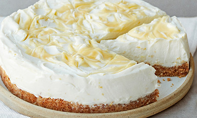 Sorrento lemon cheesecake