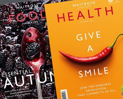 Free Waitrose magazines