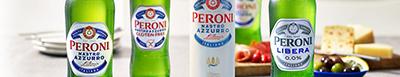 Image of Peroni beer bottle