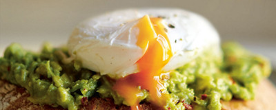 Image of poached egg