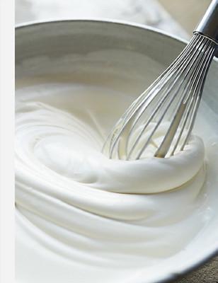 Whisk cream