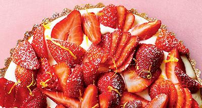 image of strawberry tart