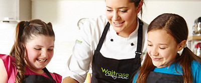 waitrose kids cookery school
