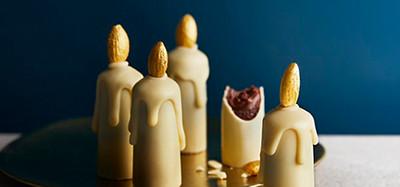Image of Christmas Heston Chocolate Candles