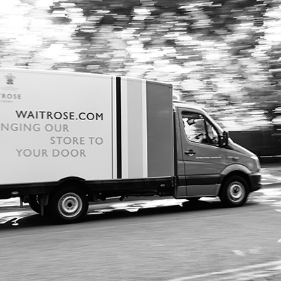 Waitrose Van Delivery