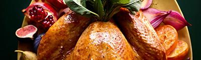 Image of Christmas turkeys