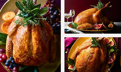 Image of whole turkeys