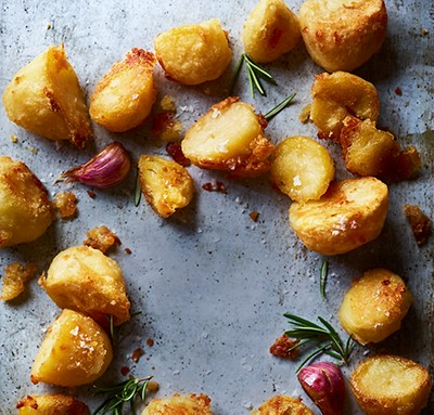 image of roast potatoes