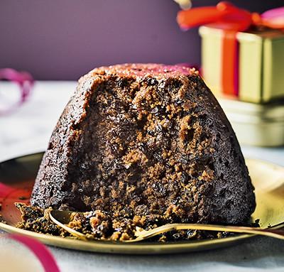 image of traditional Christmas pudding