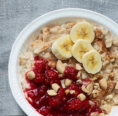 PB&J porridge