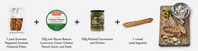 Meal Maths - Mackerel pâté toasts