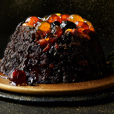 You can taste when it's waitrose christmas pudding