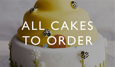 All cakes to order