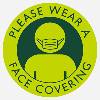Please use a face covering