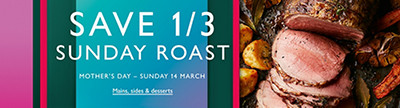 Save 1/3 Mother's Day Roast image