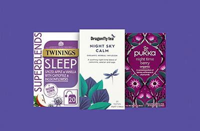 Image of teas sleep, calm, berry