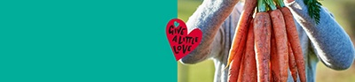 From our farms to families in need - Give a little love