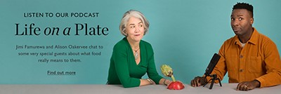Listen to our podcast, Life on a plate