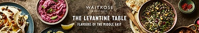 Waitrose & Partners - The Levantine Table - Flavours of the middle east