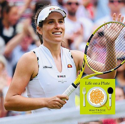 Life on a plate podcast - Johanna Konta
