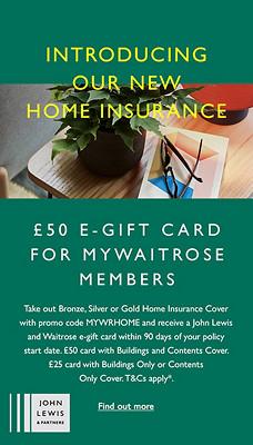 John Lewis Finance - Home Insurance