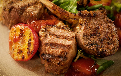 Sarit Packer and Itamar Srulovich's tahini barbecue lamb chops video