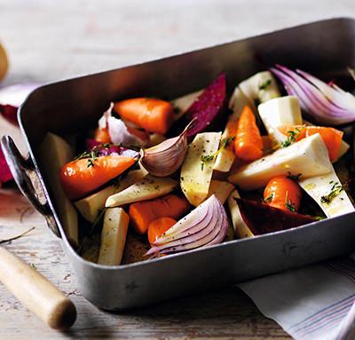 Image of roast vegetables