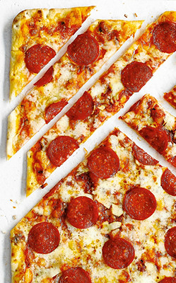 Image of American pizza toppings