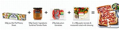 Meal Maths - Tomato Tart