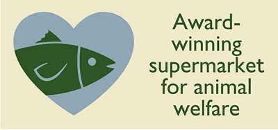 Award-winning supermarket for animal welfare