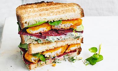 Fish finger sandwiches