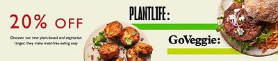20% Off Vegan & Vegetarian