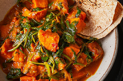 Image of Sweet potato and coconut curry