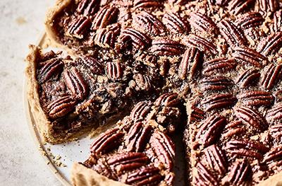 Image of Martha's maple bourbon pecan pie
