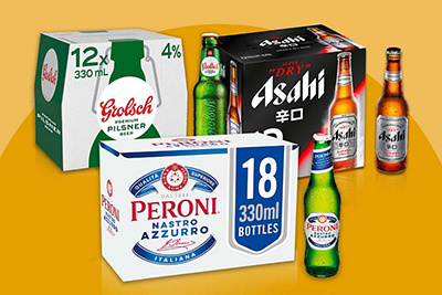 Image of crates of beer