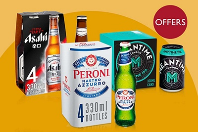 Image of beers on offer