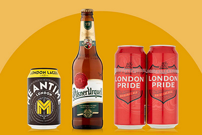 Image of speciality beers