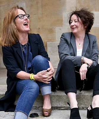 Image of Fi Glover and Jane Garvey