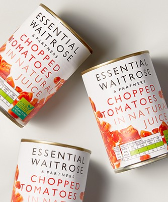 Image of tinned tomatoes