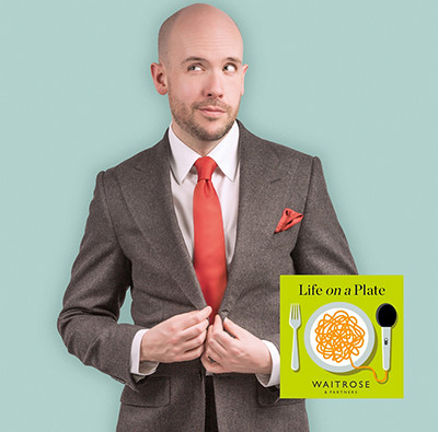 Life on a plate podcast - Tom Allen