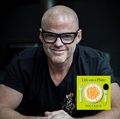 Life on a plate podcast - Heston Blumenthal