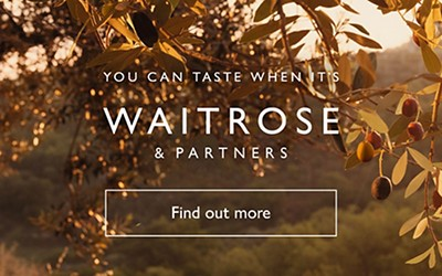 you can taste when its Waitrose & Partners, find out more