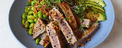 image of tuna sushi bowl